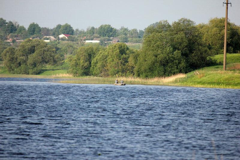 Река Вазуза в Сычёвке