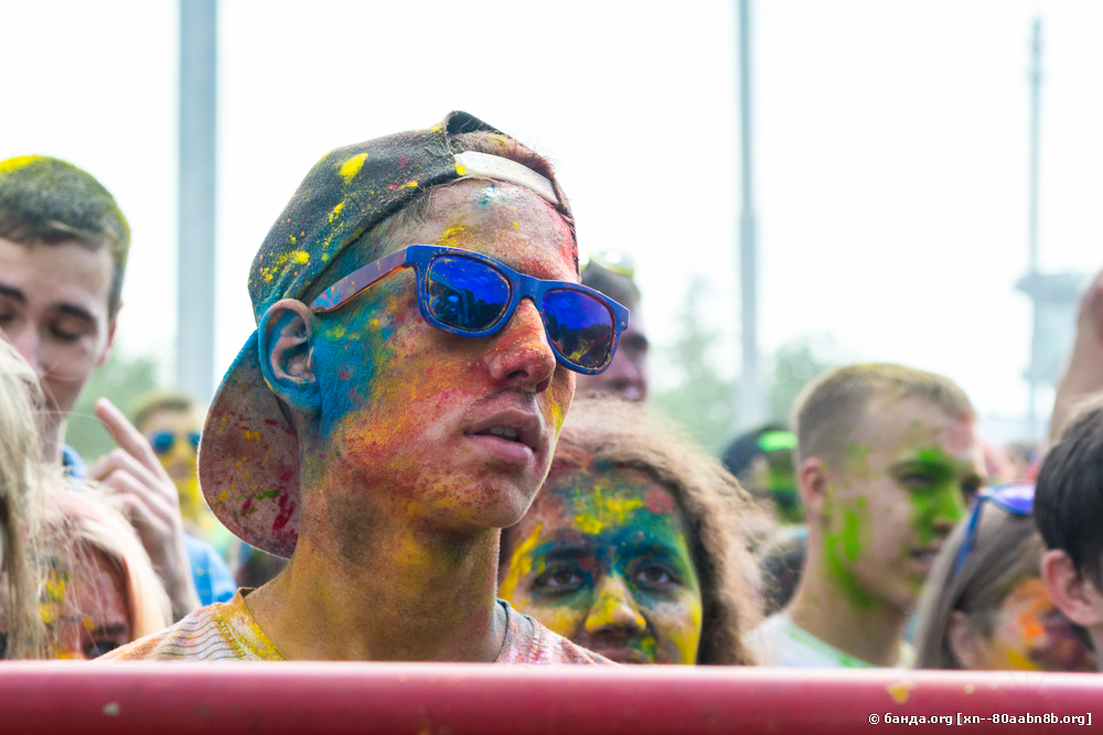 Фестиваль красок ИРИС