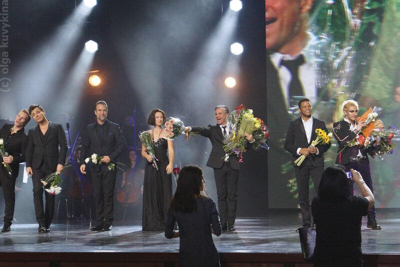 Концерт звезд французских мюзиклов 14.11.2016