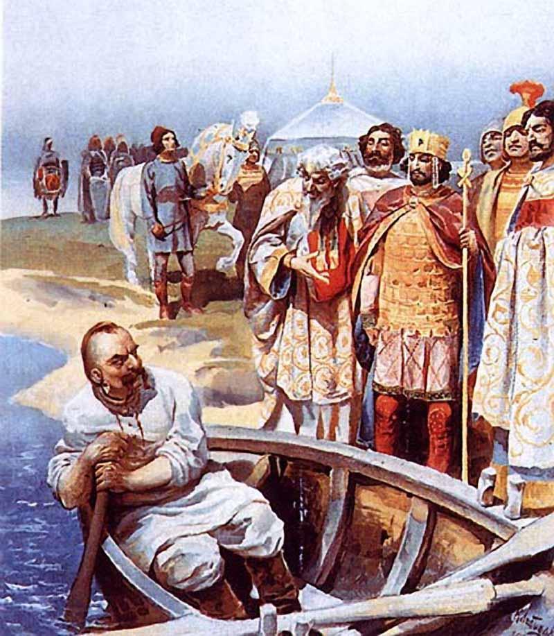 Встреча Святослава с византийским императором Цимисхием на берегу Дуная.jpg