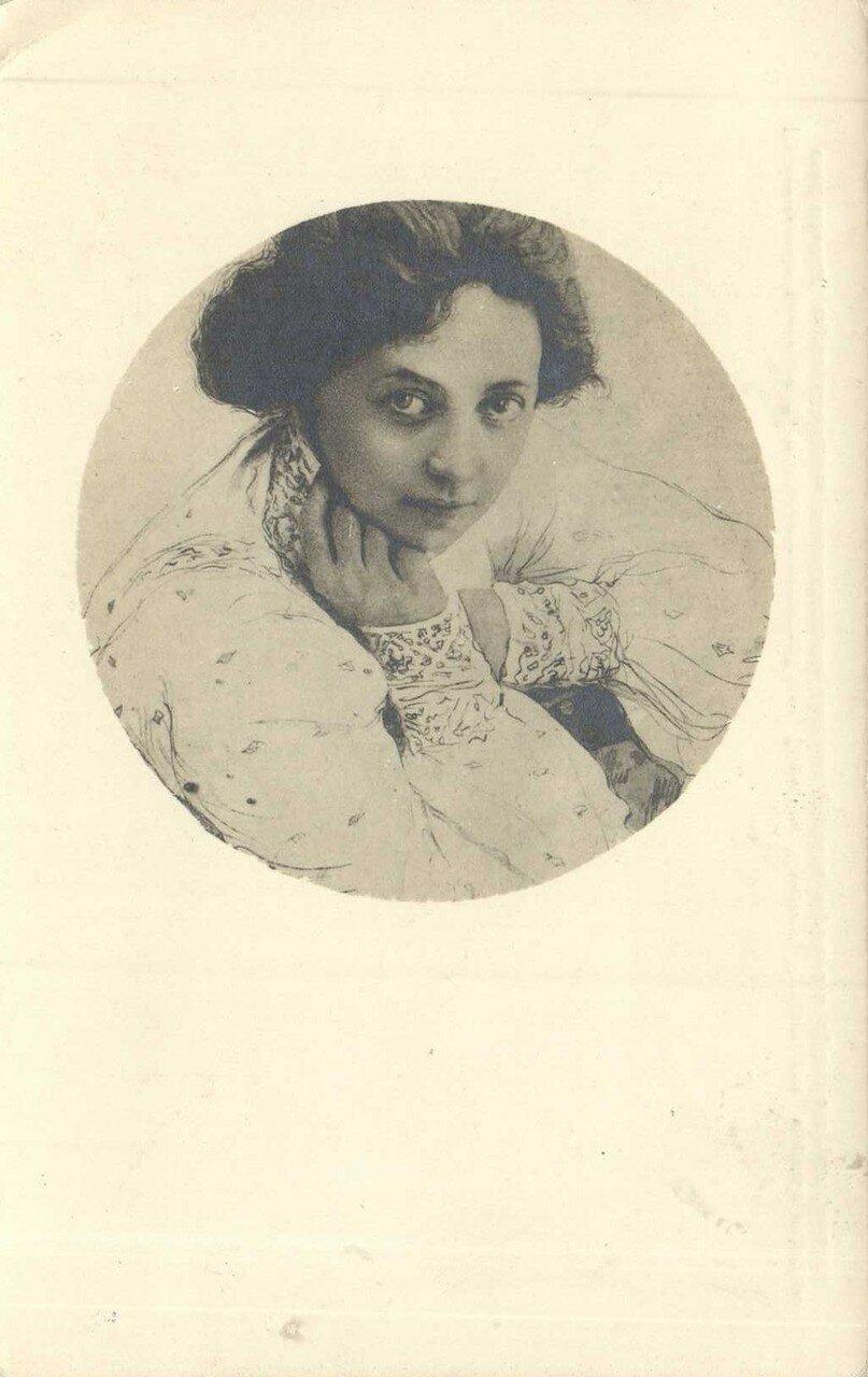 1896 году Комиссаржевская поступает на сцену Александринского театра. Первый шумный успех приходит к ней после роли Ларисы в «Бесприданнице».