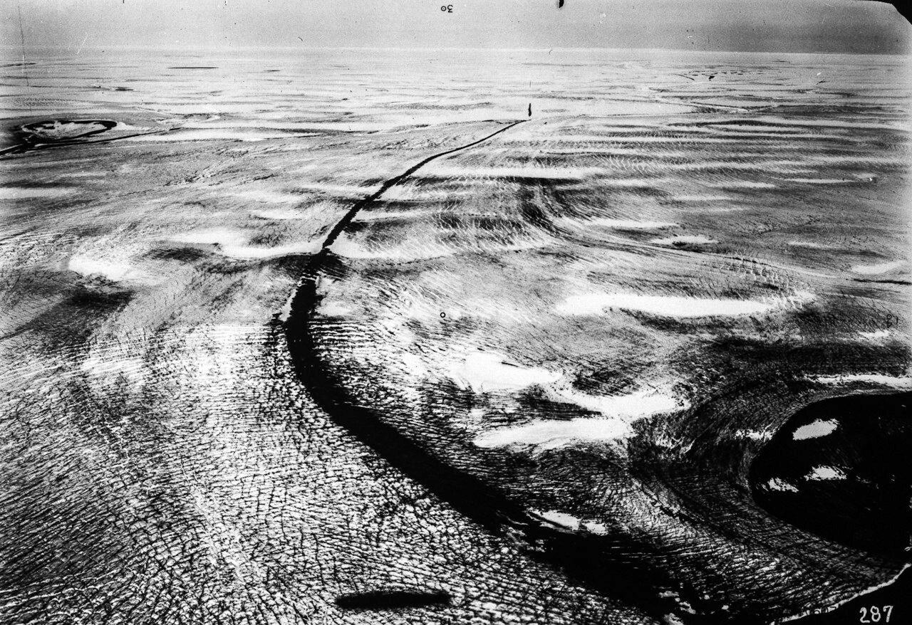 1931. Новая Земля. Ледник на восточном побережье Северного острова