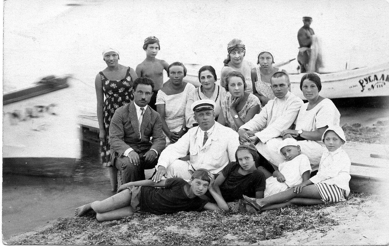 1926. Любовь Ефремовна Лясс. Евпатория