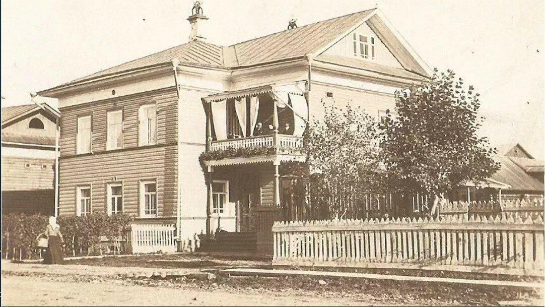 Дом М.Д.Воронина