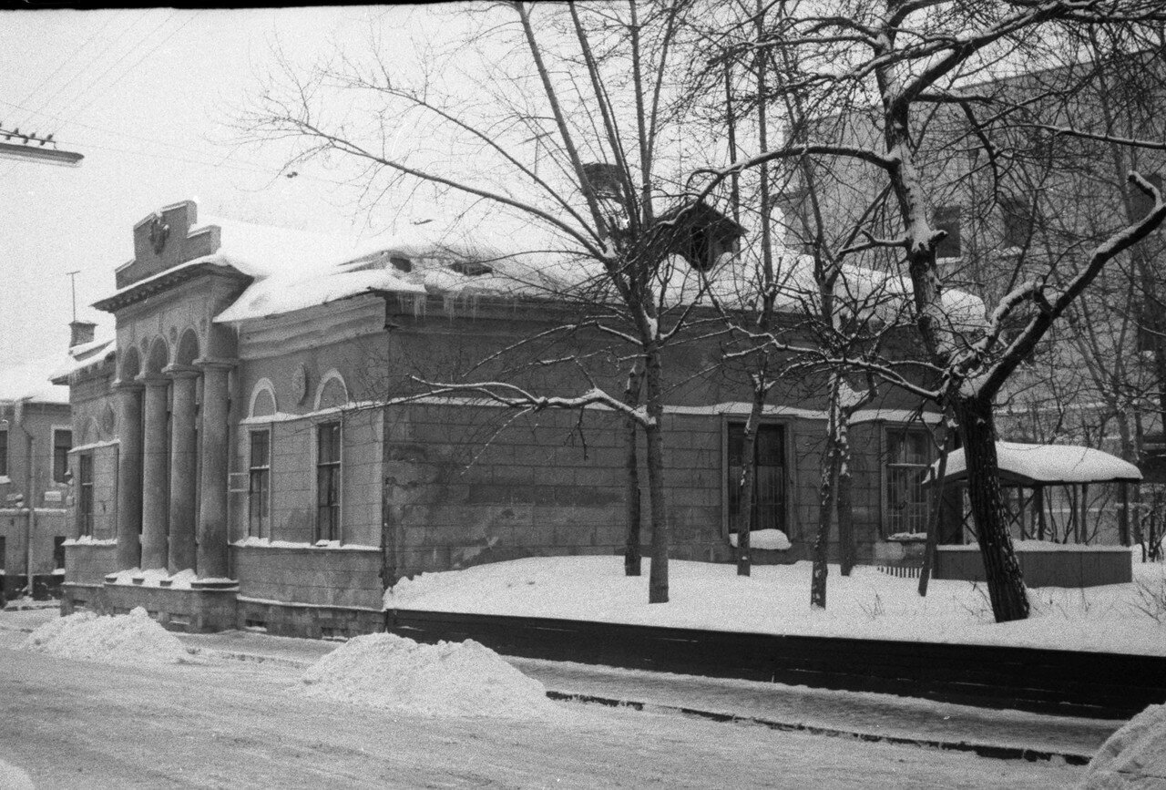 1960-е. Гагаринский переулок