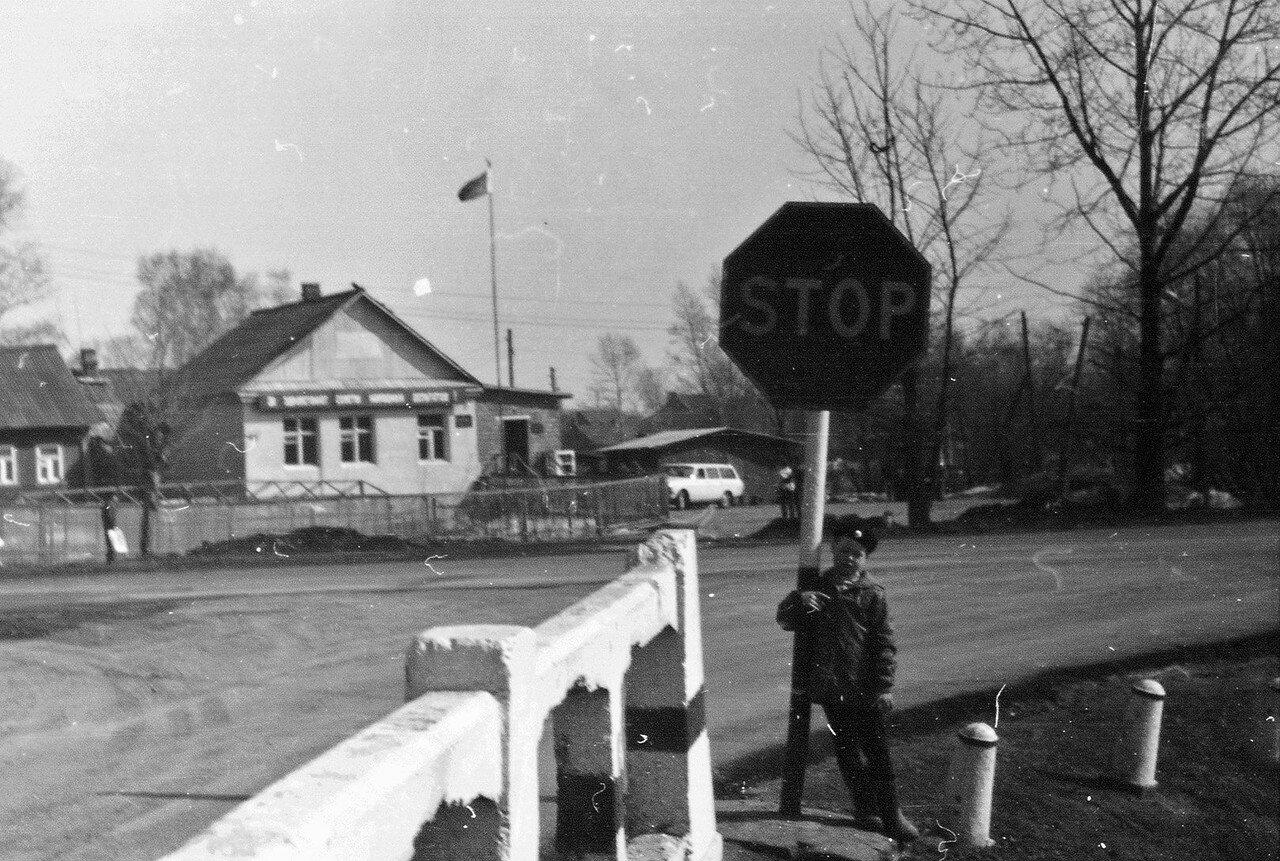 1988. Перекрёсток Челобитьевского и Осташковского шоссе