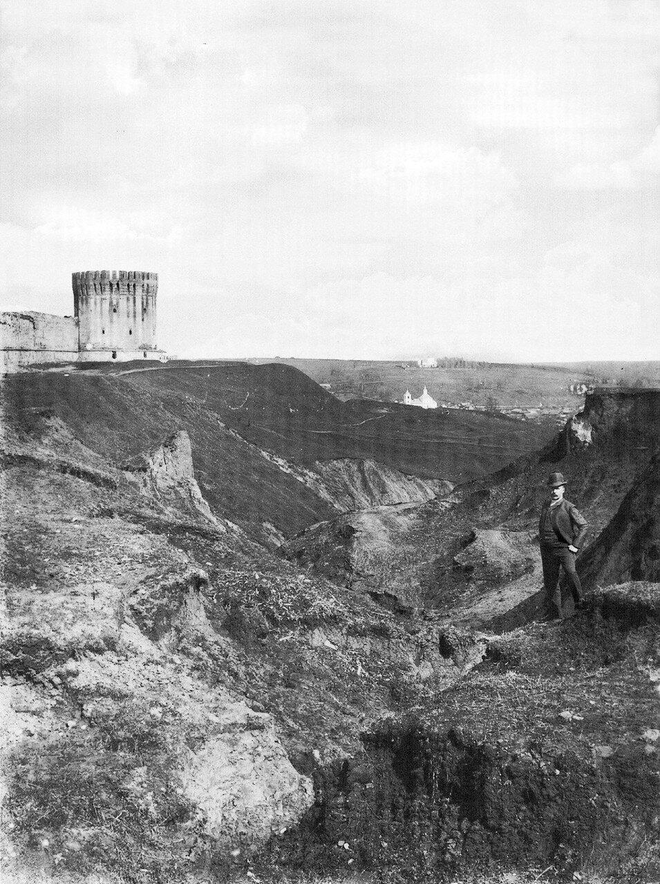 Овраг восточнее крепостной стены. 1900-е