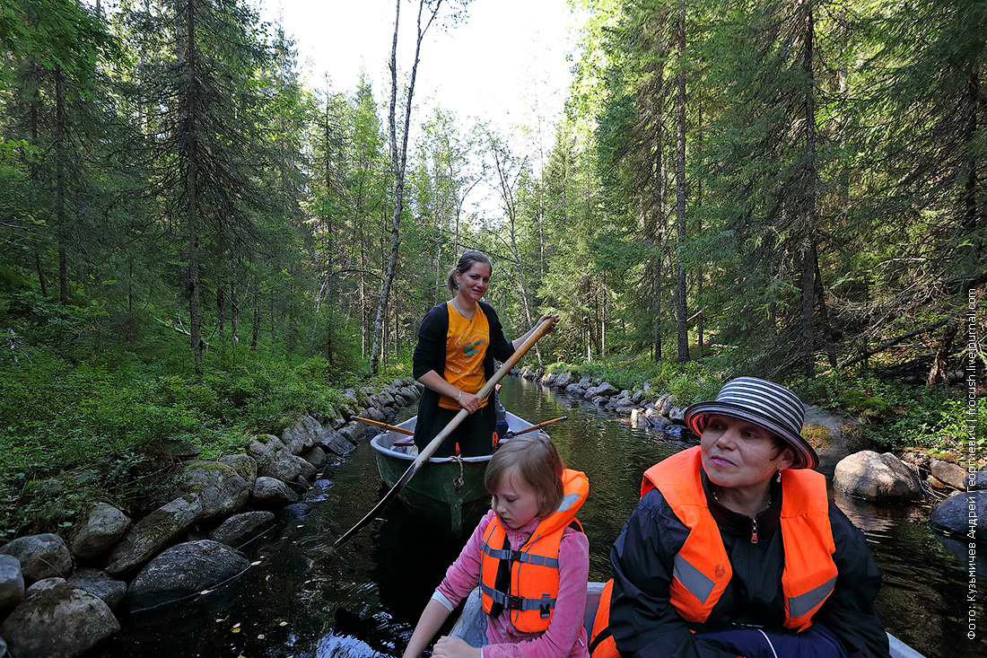экскурсия Озера и каналы Соловков