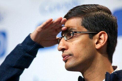 Аккаунт гендиректора Google Сундари Пичаи взломали хакеры