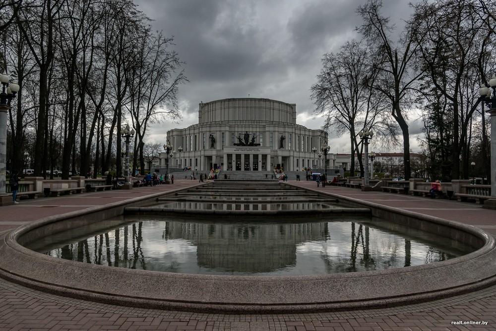 Открытие сезона фонтанов в Минске