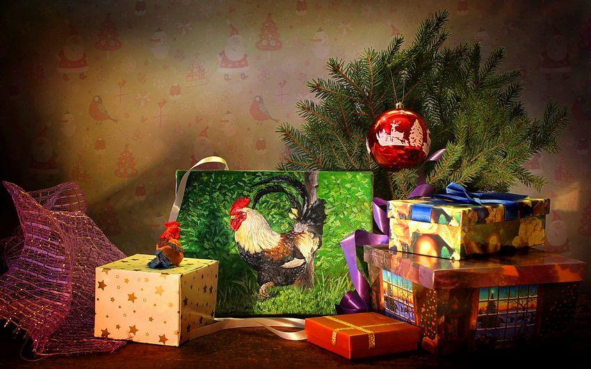 Новый год Петуха Подарки