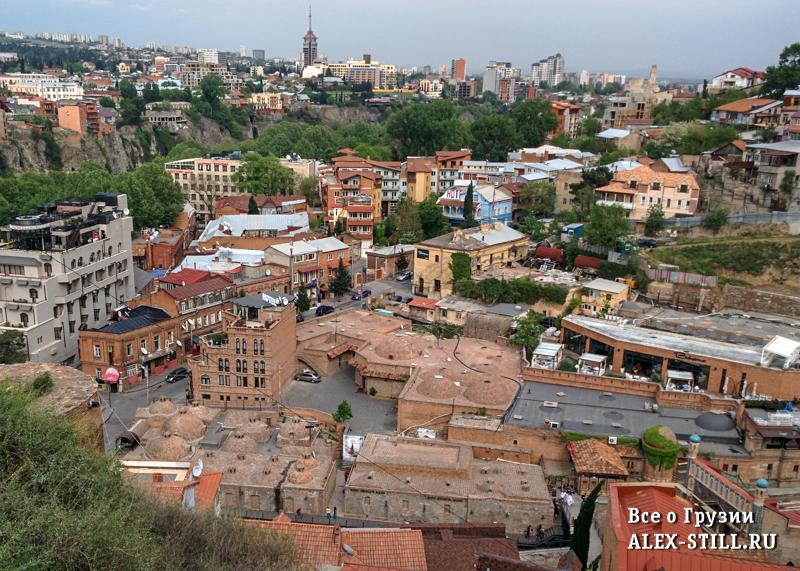 Район Абанотубани в Тбилиси
