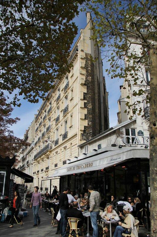 Осенний Париж. Авеню Клебер (Avenue Kléber)