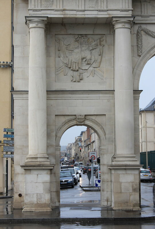 Нанси. Ворота Святой Екатерины (Porte Sainte-Catherine)