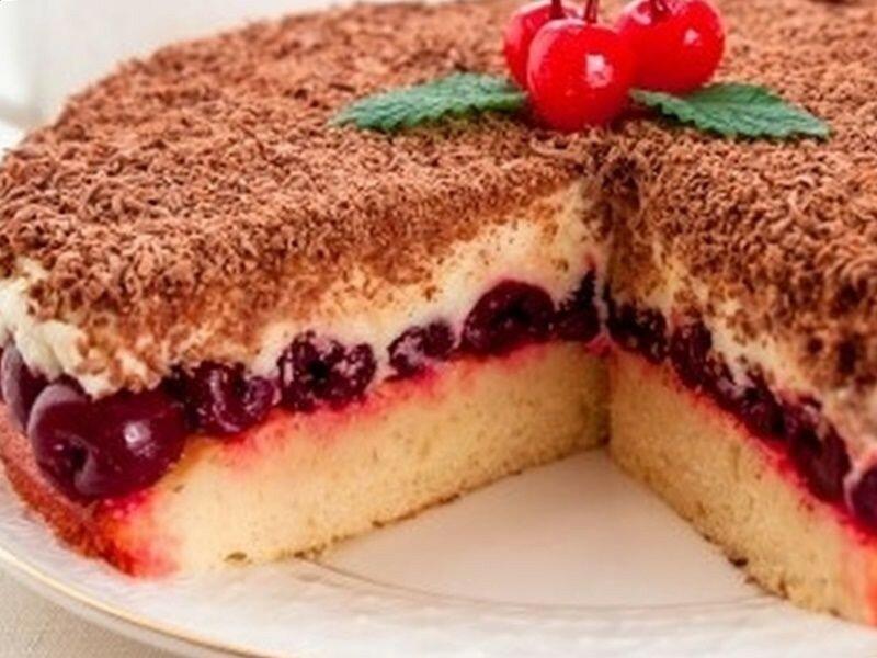 Торт «Вишневое наслаждение»