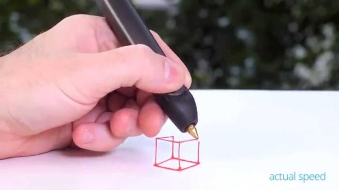 Ручка, рисующая в пространстве. Понравилась предыдущая штуковина, а теперь другая ручка, которая рис
