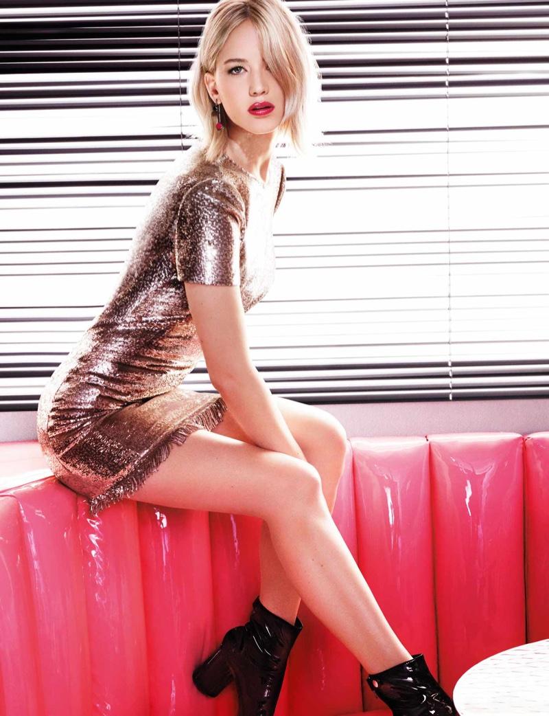 Дженнифер Лоуренс в рекламе помады Dior