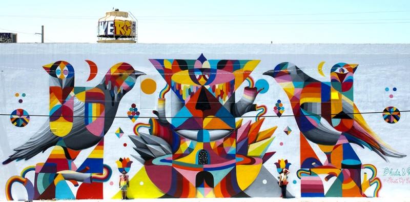 Стрит-арт, рожденный ярким вкусом Риохи