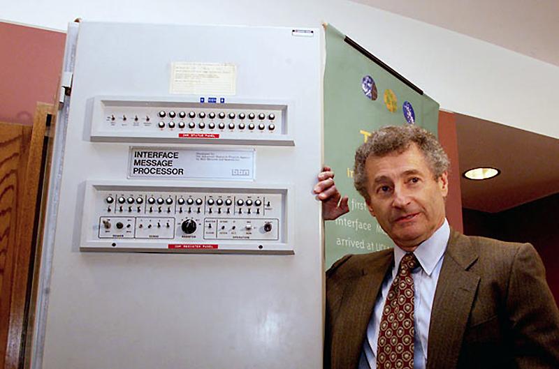 7. Интерфейсный процессор сообщений, 1969 год. Скрываемый во времена холодной войны, когда правитель