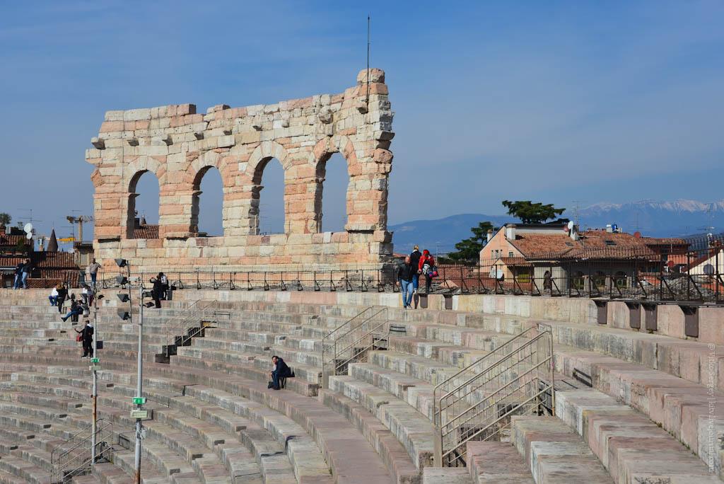 Как выглядит Веронский колизей изнутри, и для чего он используется в наши дни?