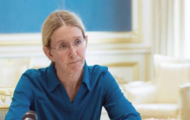 И. о. министра здравоохранения Супрун обзавелась тремя заместителями