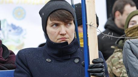 Савченко назвала украинские власти противником народа