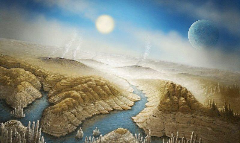 Система TRAPPIST-1 имеет больше шансов назарождение жизни, чем Земля