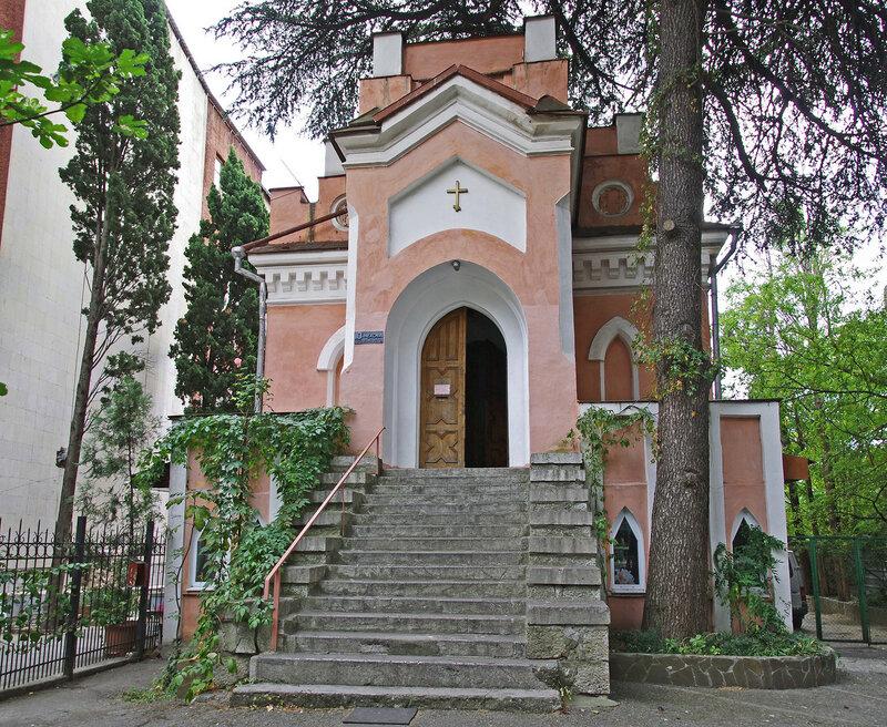 Лютеранская кирха Святой Марии