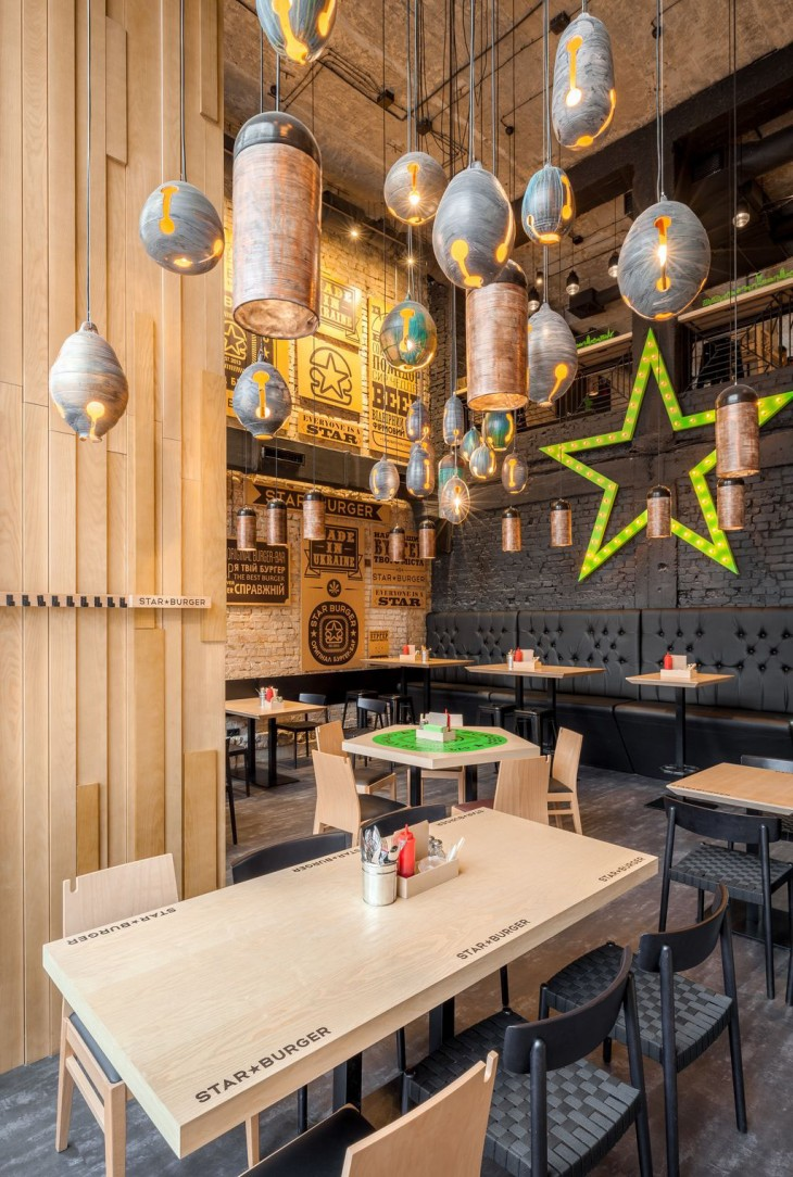 Star Burger by Sergey Makhno Architects