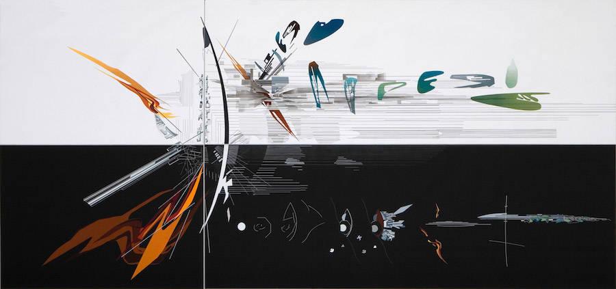 Zaha Hadid's 380° drawings exploration (2 pics)