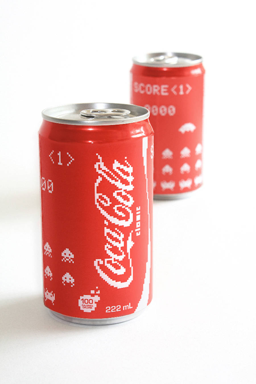 Coca-Cola Space Invaders Cans Edition