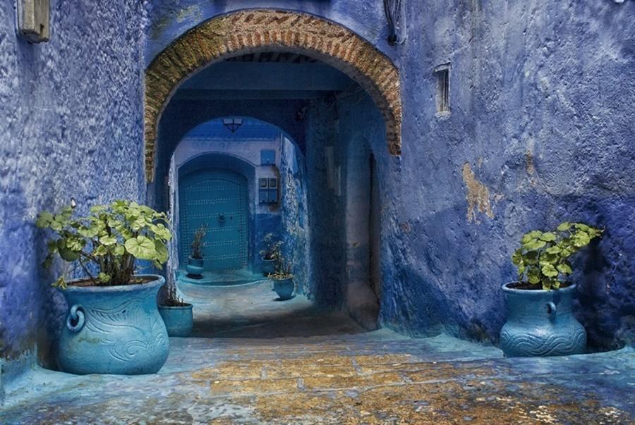 Шавен (Шифшаун)— синий город в Марокко