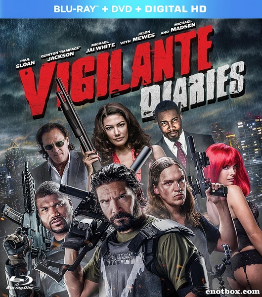 Хроники мстителя / Vigilante Diaries (2016/BD-Remux/BDRip/HDRip)