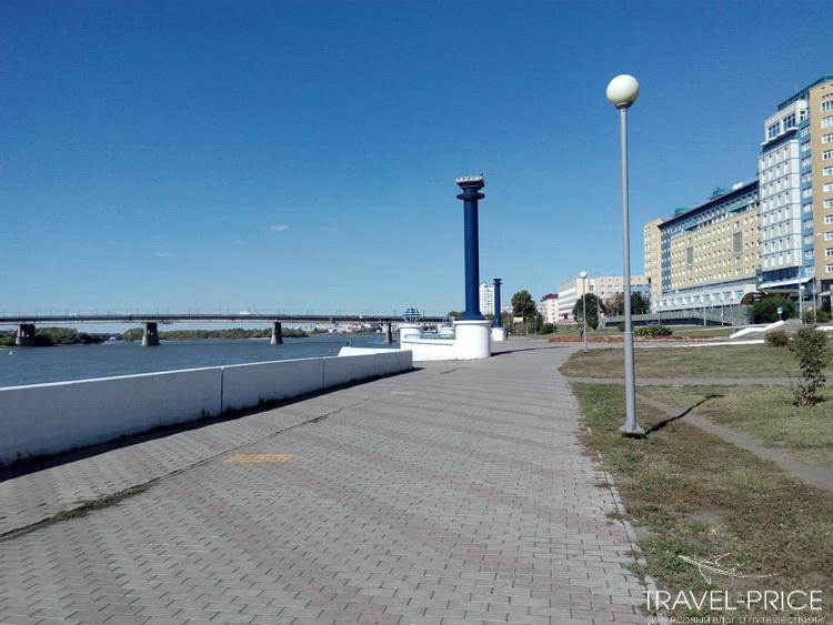 Набережная Омск