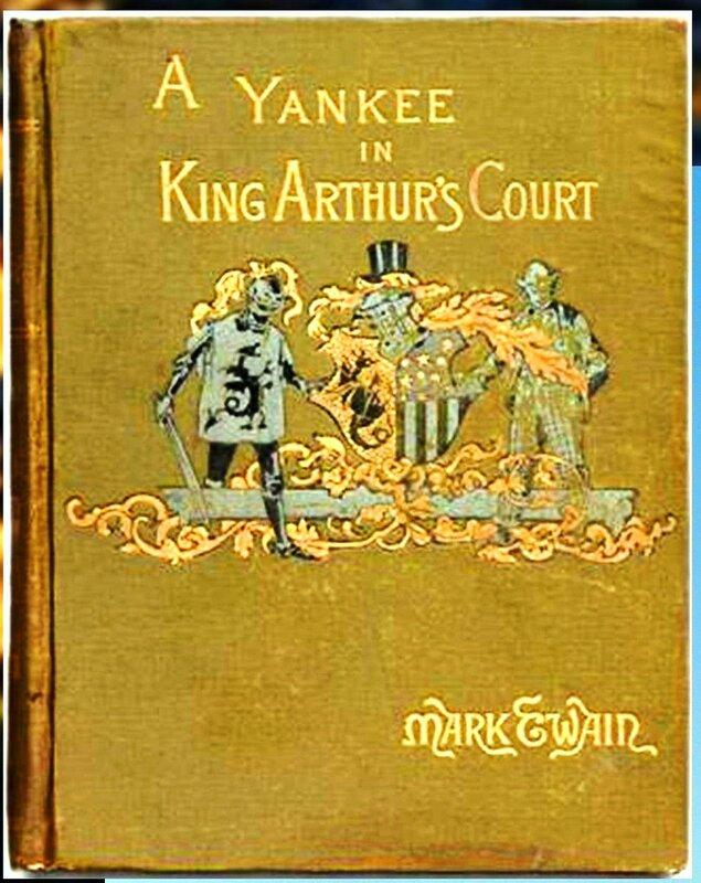 Марк Твен. Yankee in KAC book.JPG