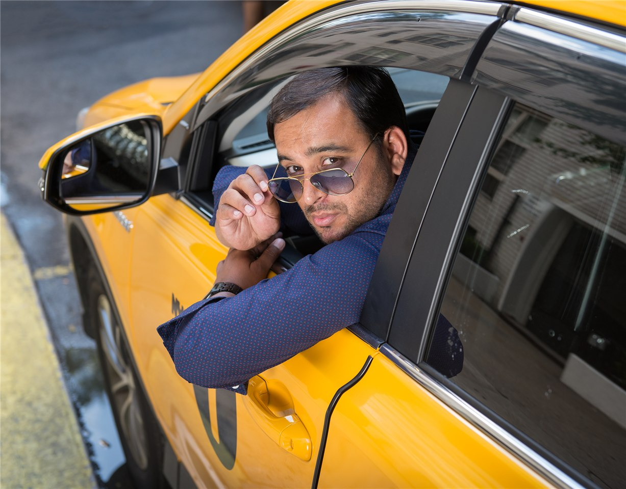 NYC Taxi Drivers calendar for 2017 - Zaib