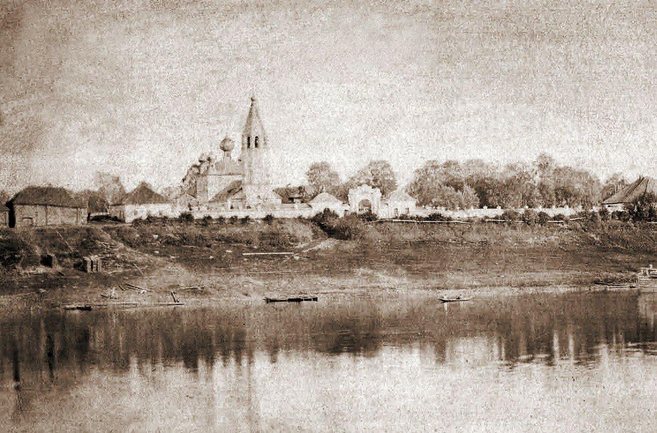 Окрестности Рыбинска. Петровское. Церковь села Петровского
