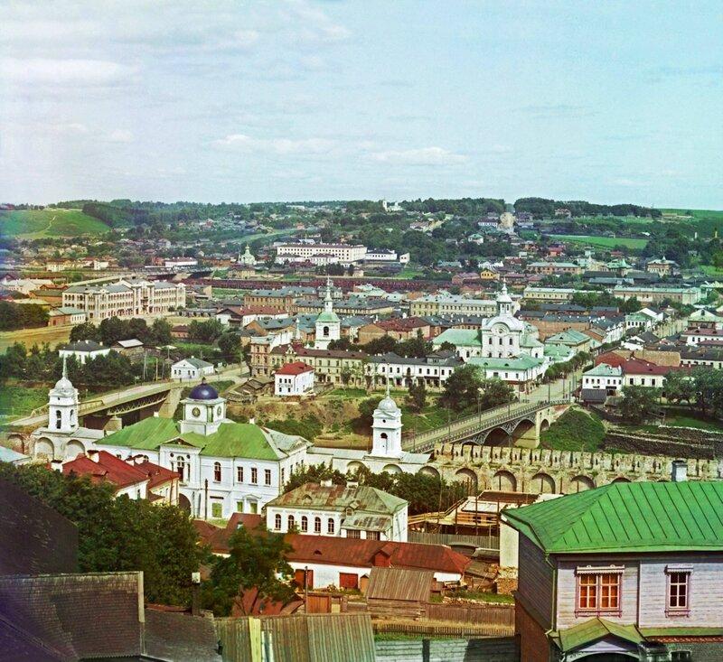 Смоленск, Проскудин-Горский, фото 1912