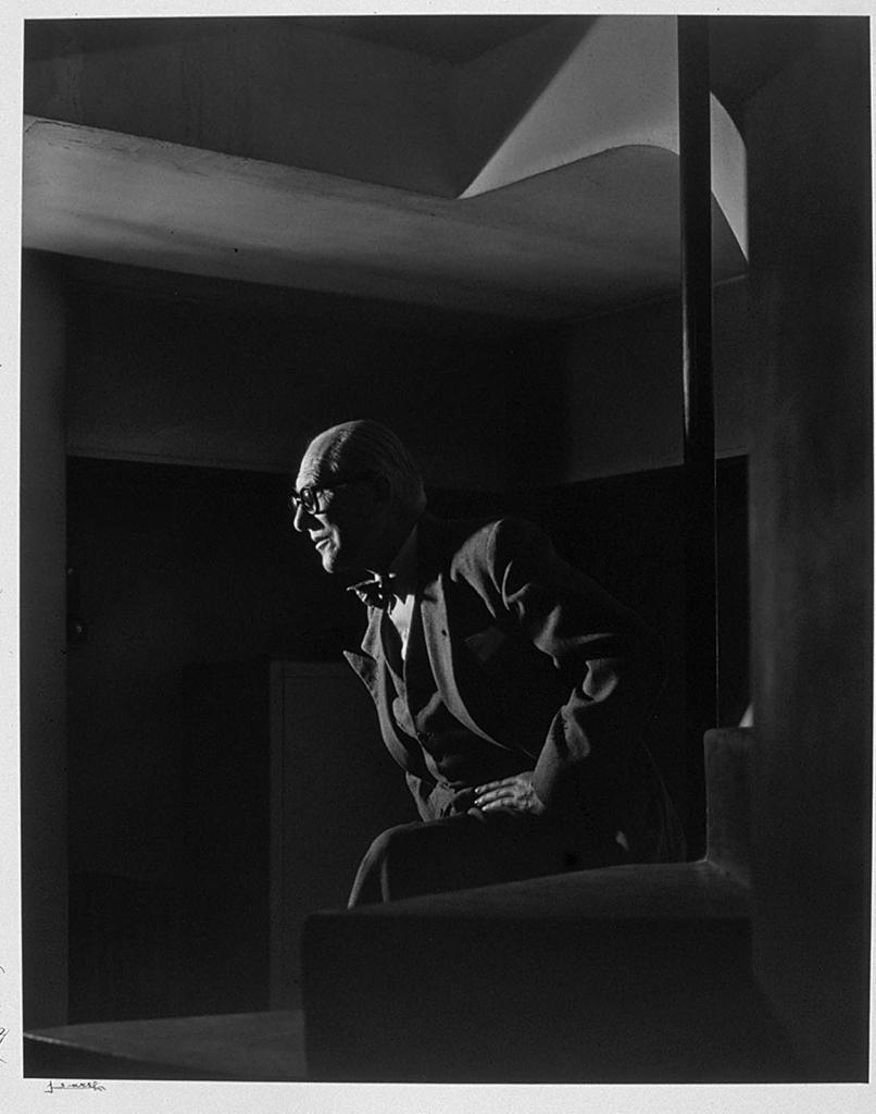 Ле Корбюзье1954 Юсуф Карш Канадский фотограф 1908-2002