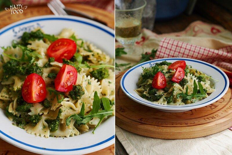 Паста с тосканским песто (готовлю с техникой Gorenje)