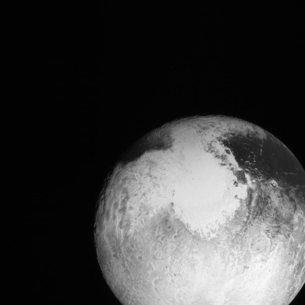 поступила последние фото плутона высокого разрешения представить предварительные