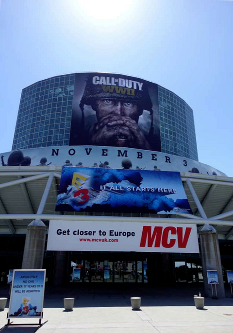E3 2017 Los Angeles Convention Center. It all starts here