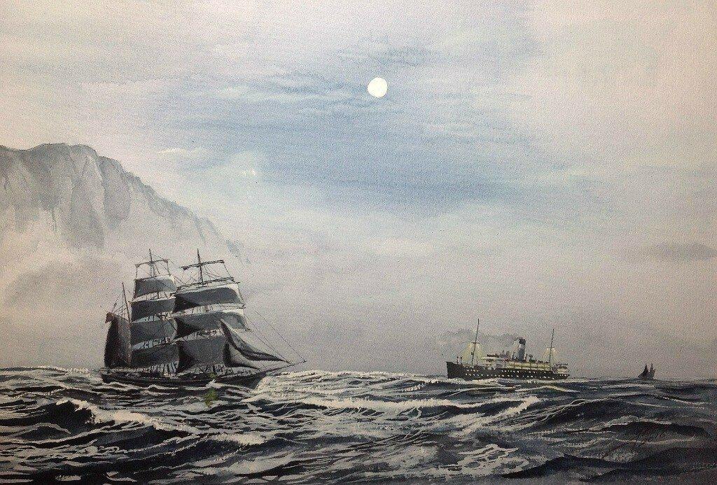Moonlight Landfall, SS Vauban.