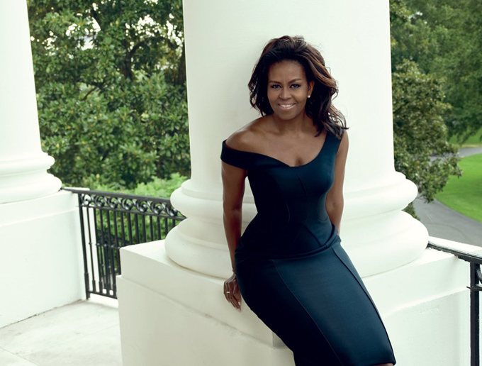 Мишель Обама на обложке Vogue