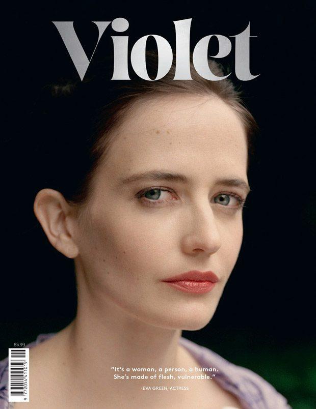 Ева Грин в Violet Magazine (9 фото)