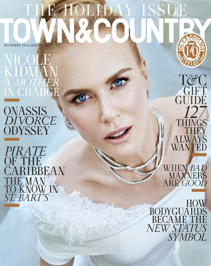 Николь Кидман в Town & Country Magazine