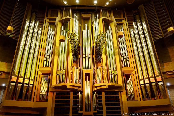 Фотографии и текст Алексея Надёжина   1. Этот орган изготовлен в 2004 году в Германии консор