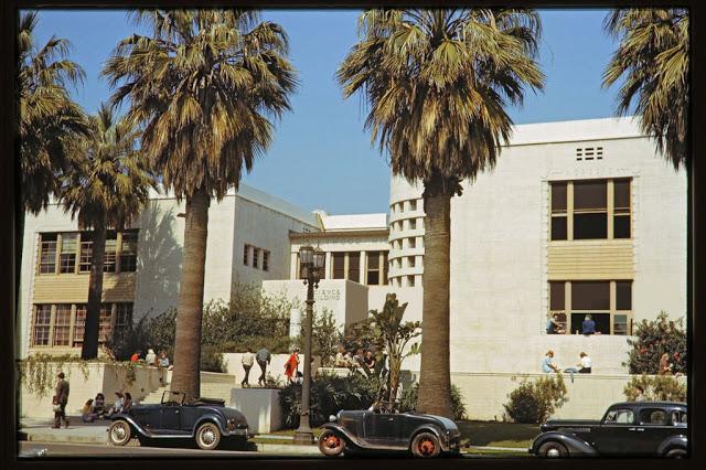 Старшая школа в Голливуде, 1941 год.