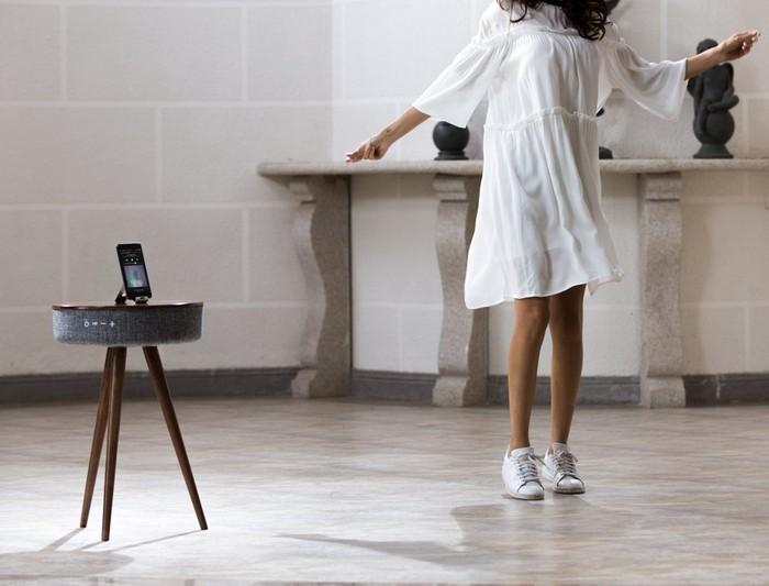 The Mellow – кофейный стол и динамики со звучанием на 360 градусов по совместительству The Mellow –