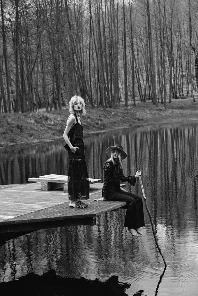 Николь Грегори для Elle Poland